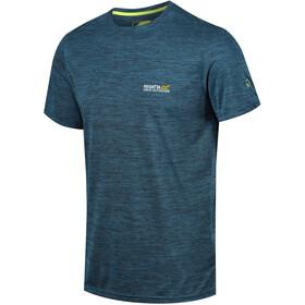 Regatta Fingal IV t-shirt Heren, majolica blue marl